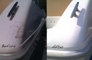 Comment faire une reparation de gelcoat soi-même?